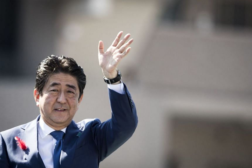 Mr Shinzo Abe was expected to refrain from visiting the shrine during the annual autumn festival.