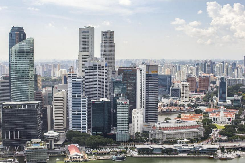 View of the Central Business District (CBD) skyline.