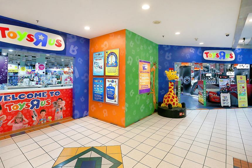 The Toys 'R Us' store at Forum The Shopping Mall. Toys 'R' Us and some of its North American subsidiaries filed for bankruptcy last month, though its Asian unit was not included in the proceedings.