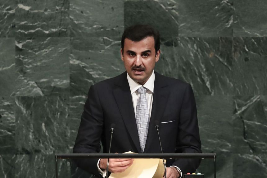Sheikh Tamim bin Hamad al-Thani will receive a ceremonial welcome in the morning at the Istana before meeting President Halimah Yacob and PM Lee Hsien Loong.