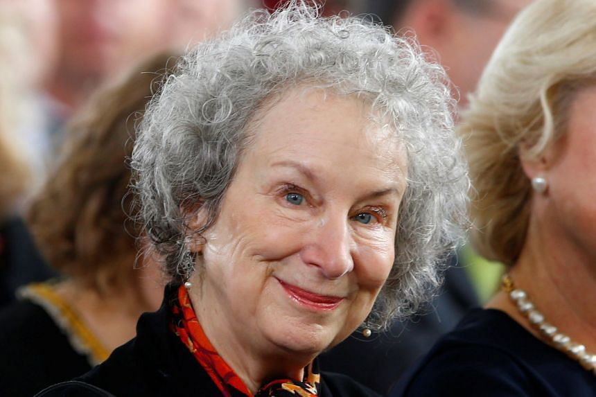 The Handmaid's Tale, about a totalitarian society, is Atwood's (above) best-known work.