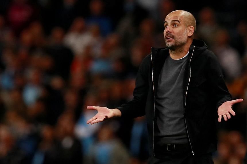 Prior to the game Guardiola had lavished praise on Maurizio Sarri's Napoli, who are top of Serie A.