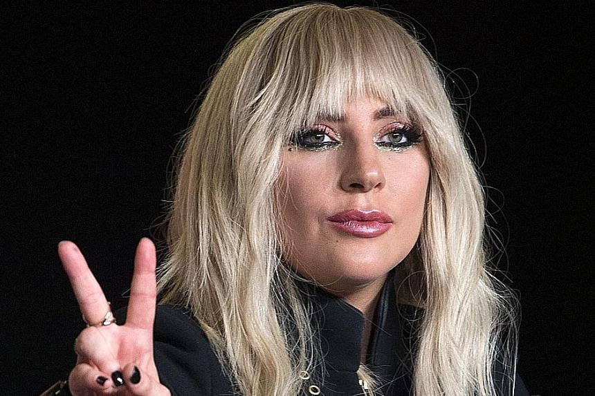 Many stars such as singer Lady Gaga acknowledged they had been sexually harassed or assaulted.