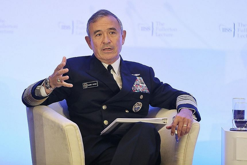 "Admiral Harry Harris said the alarming behaviour exhibited by the Kim Jong Un regime is a threat to the entire world as ""North Korea's missiles point in every direction""."