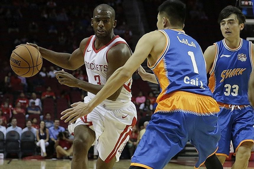 The Houston Rockets will hope the acquisition of All-Star Chris Paul will tip the scales in their favour in the Western Conference as they try to match the Golden State Warriors.