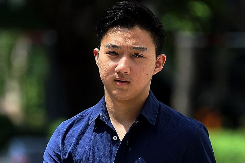 Herman Shi Ximu drove at a high speed, hitting another car, just one month after he had been warned for speeding - and five months after getting his driving licence.