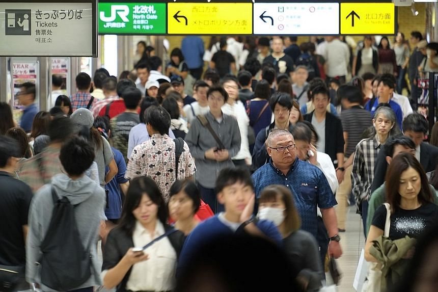 A Pew Research Centre report released yesterday notes that Japanese are overall more positive about their nation's future than they were last year. Also, only 32 per cent of respondents aged 18 to 29 are displeased with the state of Japanese democrac