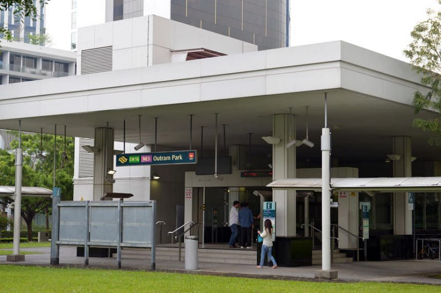 A man was arrested for leaving an unattended bag, which contained items including mobile phones and a laptop, at Outram Park and Farrer Park MRT stations.
