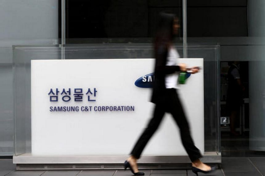 A spokesman for Samsung C&T confirmed investigators were searching its construction headquarters.