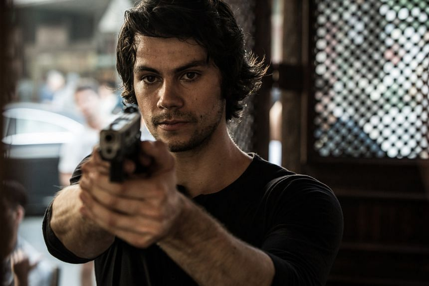 American Assassin stars Dylan O'Brien as a spy named Mitch Rapp.