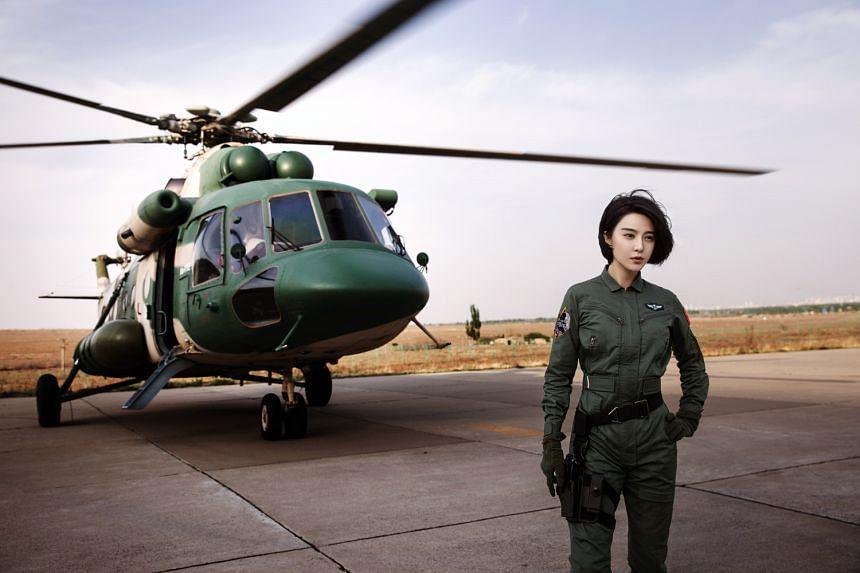 Fan Bingbing stars as an elite pilot in Sky Hunter.