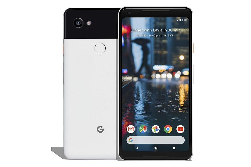 Google has produced a very good smartphone camera. The Pixel 2 XL's screen has rounded corners and an always-on display mode to show the current time and notifications.