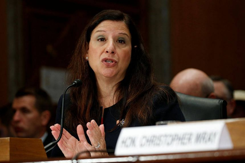 Acting Secretary of Homeland Security Elaine Duke testifies before a Senate Committee on Homeland Security and Governmental Affairs during a hearing on Capitol Hill in Washington, on Sept 27, 2017.