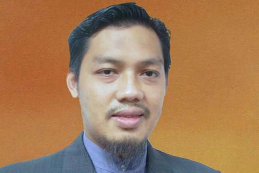 Malaysian lecturer-turned militant Dr Mahmud Ahmad.