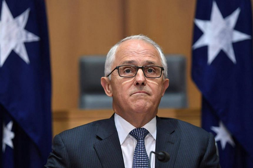 Turnbull said Australia would abolish a temporary work visa popular with foreigners and replace it with a new programme.