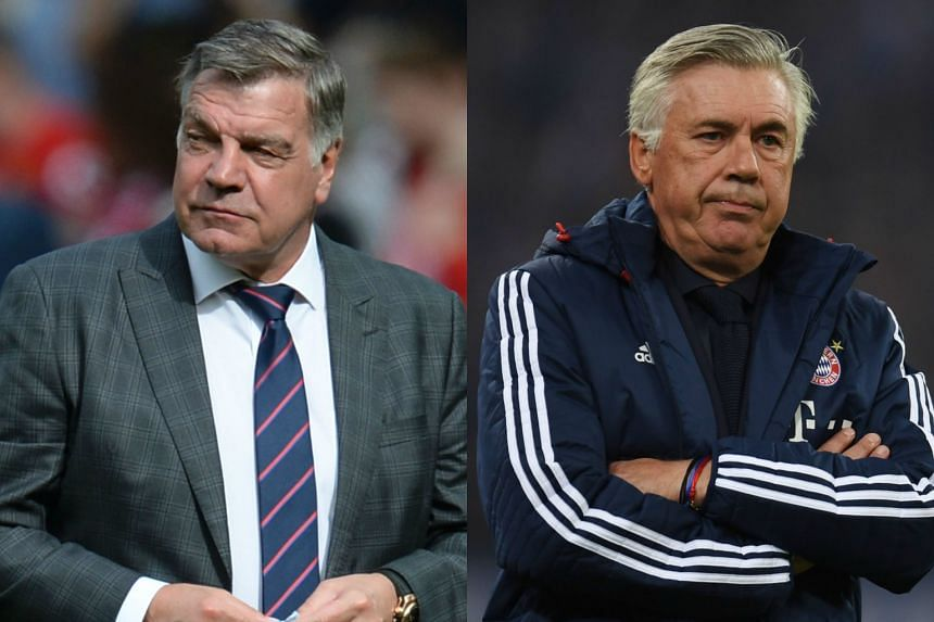 Sam Allardyce and Carlo Ancelotti have been ruled out as replacements for Craig Shakespeare.