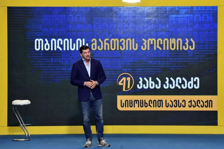 Former footballer Kakha Kaladze, 39, wants to become the mayor of Tbilisi, the capital city in his native country of Georgia.