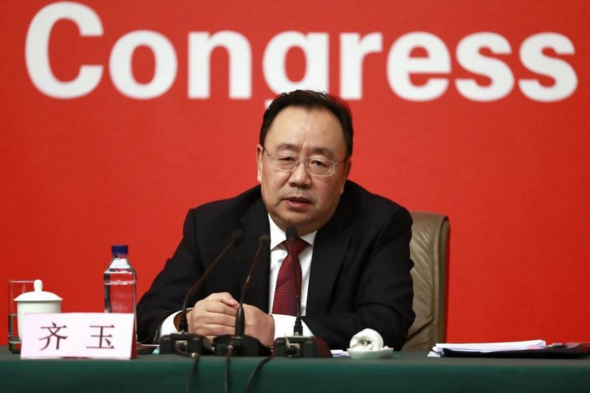 "Vice-minister of the CCP's Organisation Department Qi Yu said that inaction among civil servants and party officials exists ""but this involves only very few officials and only some individual cases in certain localities""."