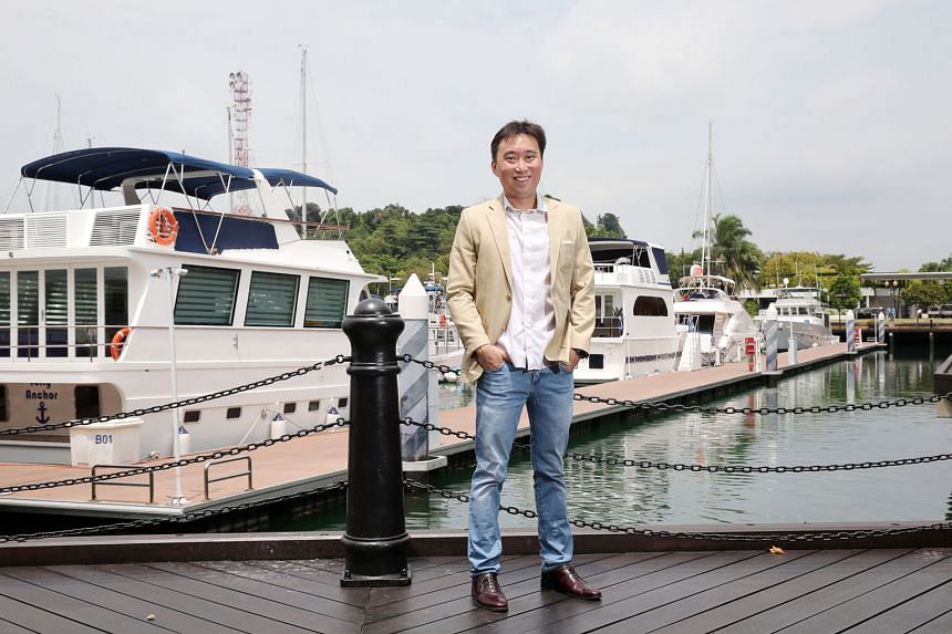 "Mr Calvin Cheng, who is co-chairman of China-based education tech firm Retech Technology, entered China in 2011 when he realised that the Singapore market, on its own, was ""far too small""."