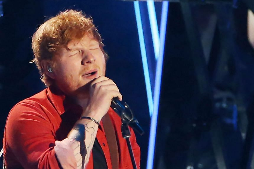 The British singer performing during the MTV Video Music Awards 2017, in Inglewood, California, on Aug 27. Local fans are wondering if his concert will go on as planned.