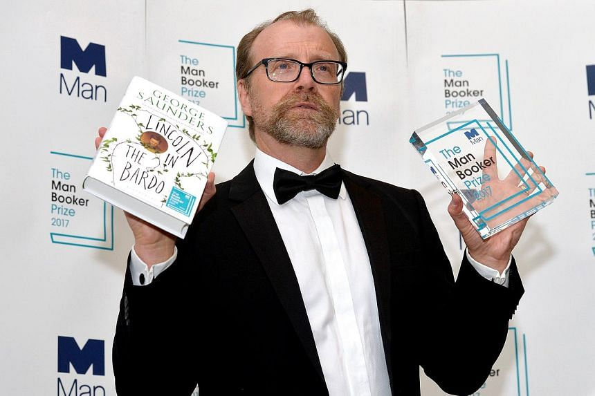The second American in a row to win the British literary award after Paul Beatty, George Saunders (above) won for his experimental first novel, Lincoln In The Bardo.