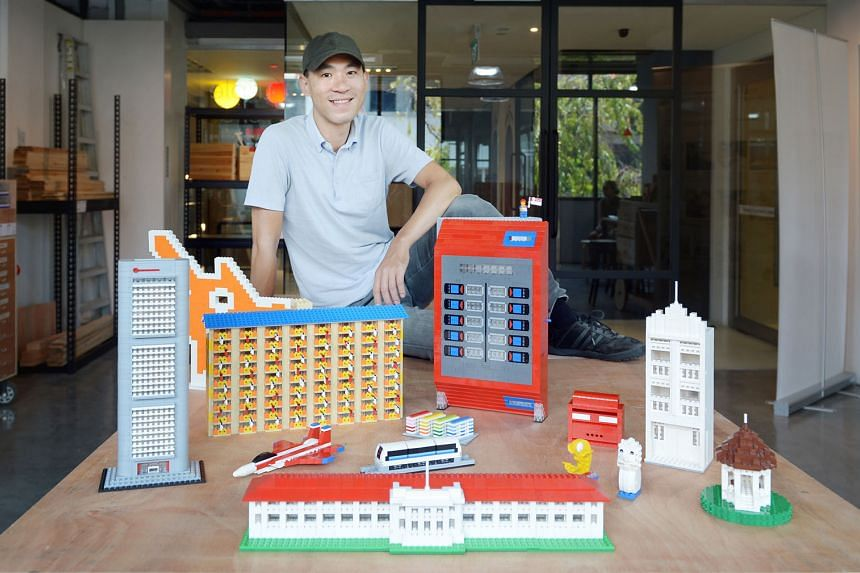 Mr Jeffrey Kong, 38, began working on Lego sculptures commercially when more and more people asked him about his projects and reached out to commission pieces. Another Lego enthusiast, Mr Davide Sacramati, is trying to get the Danish toymaker to put