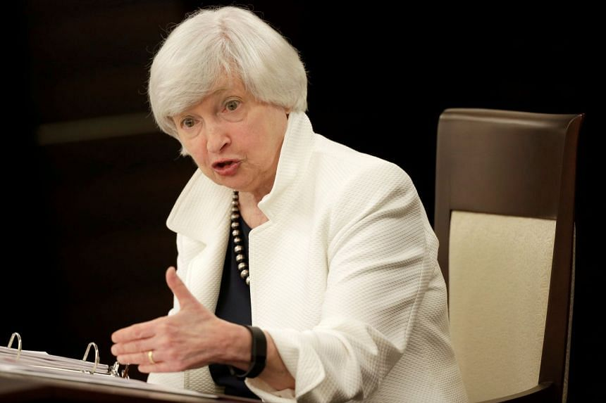 Federal Reserve chairman Janet Yellen speaks during a news conference, Sept 20, 2017.