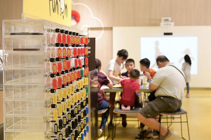 McDonald's Singapore has launched an initiative to get diners to set aside their mobile phones and spend more time interacting with others at the table. The fast-food firm said on Monday that it has set up a mobile phone locker at its Marine Cove out