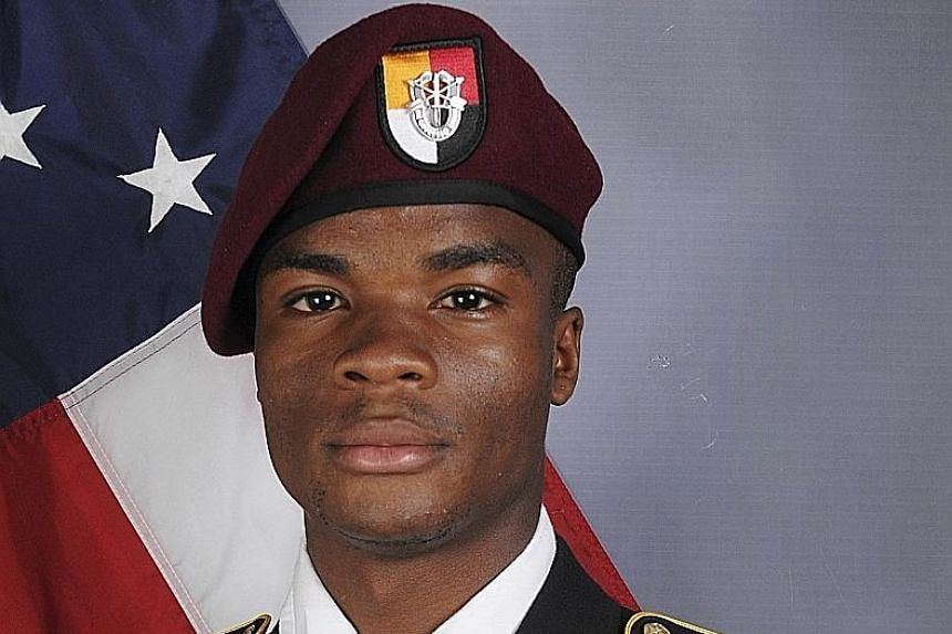 Sergeant La David T. Johnson was among four Americans killed in an Oct 4 ambush in Niger. His grieving mother accused the President of disrespecting her family.