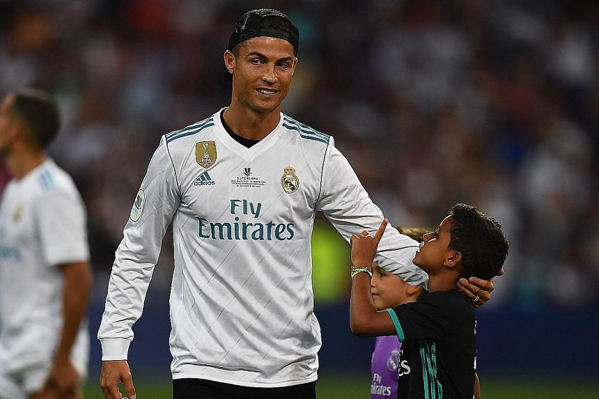 Cristiano Ronaldo is the most-followed athlete on social media - with 295.3 million as of last month across Facebook, Twitter and Instagram.