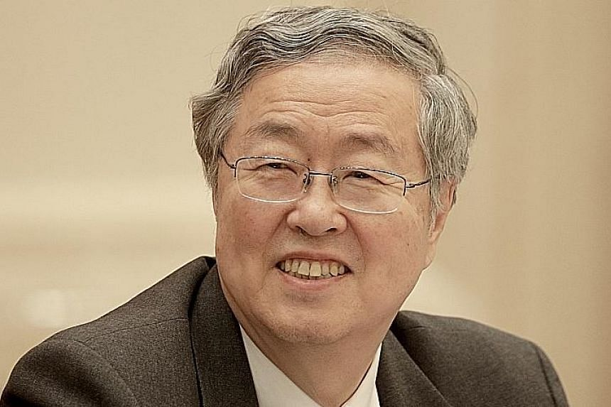 People's Bank of China governor Zhou Xiaochuan said excessive optimism could lead to a sharp correction.