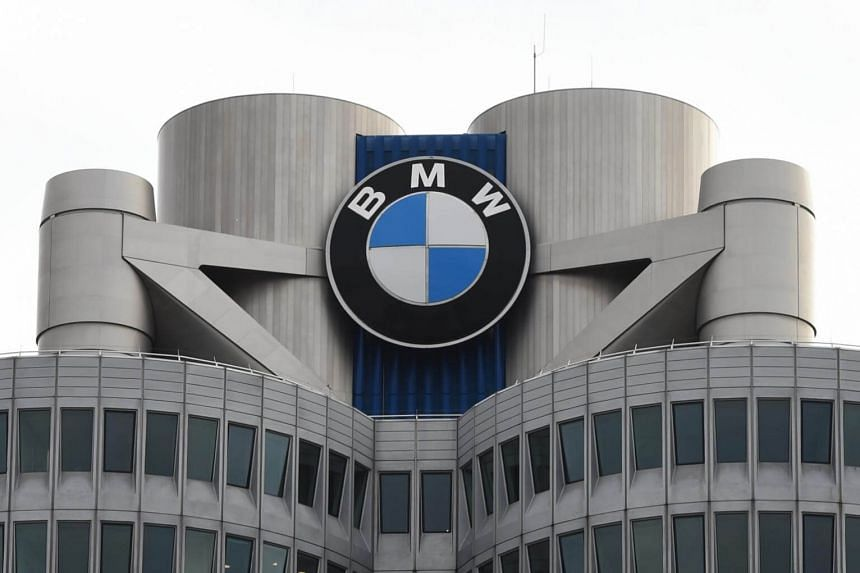 The headquarters of German car maker BMW in Munich, southern Germany on March 21, 2017.