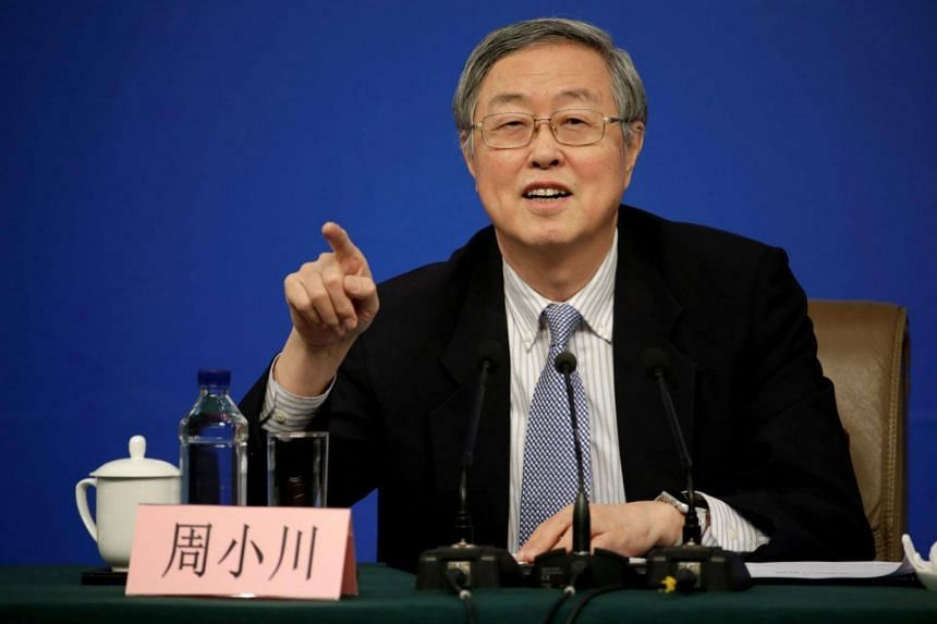 People's Bank of China Governor Zhou Xiaochuan at a news conference in Beijing, China on March 10, 2017.