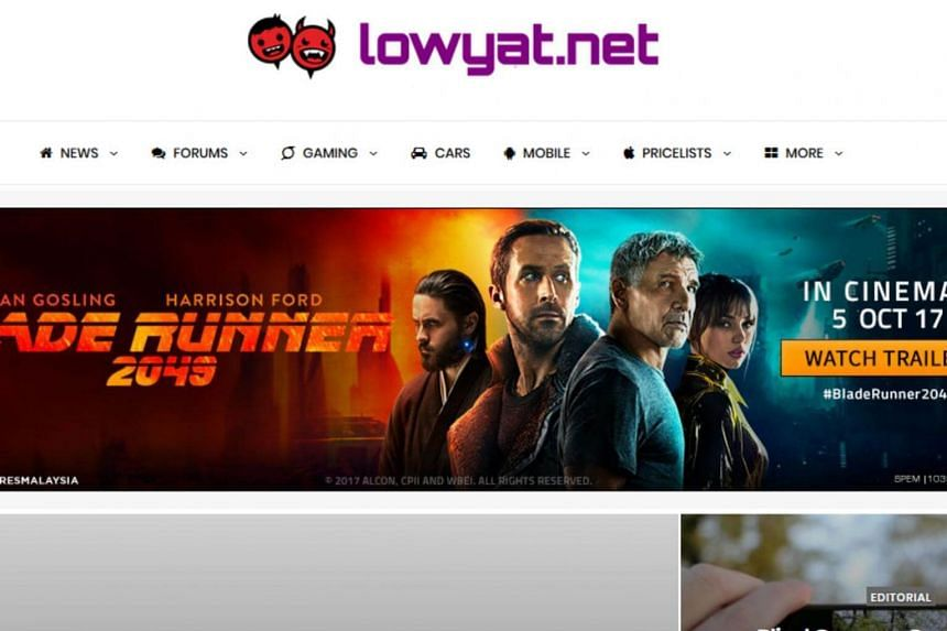 The claim first surfaced in an article on website Lowyat.net, which also displayed an advertisement for the sale of personal data.