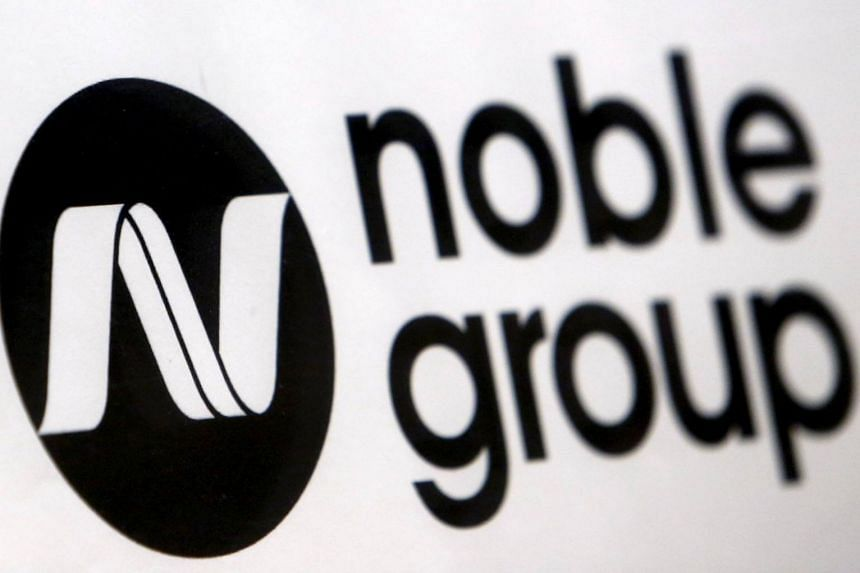 Noble Group's stock was halted at 38 cents, 2.6 per cent lower, after the Hong Kong-based company's announcement of a major transaction.