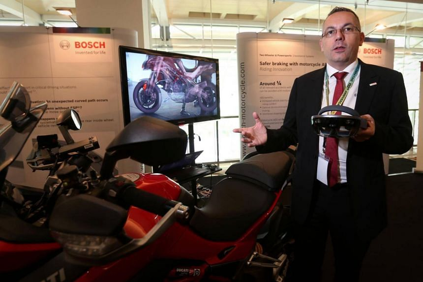 Bosch Malaysia's general manager for automotive sales and original equipment in South-east Asia Klaus Landhaeusser warned that an over-reliance on sensors and other safety features may strip drivers of self-control and make them more complacent.