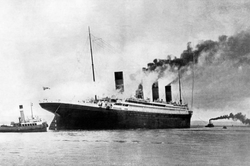 The Titanic was the largest ocean liner in service when it struck an iceberg on April 14 1912 in the Atlantic while travelling from Southampton to New York.