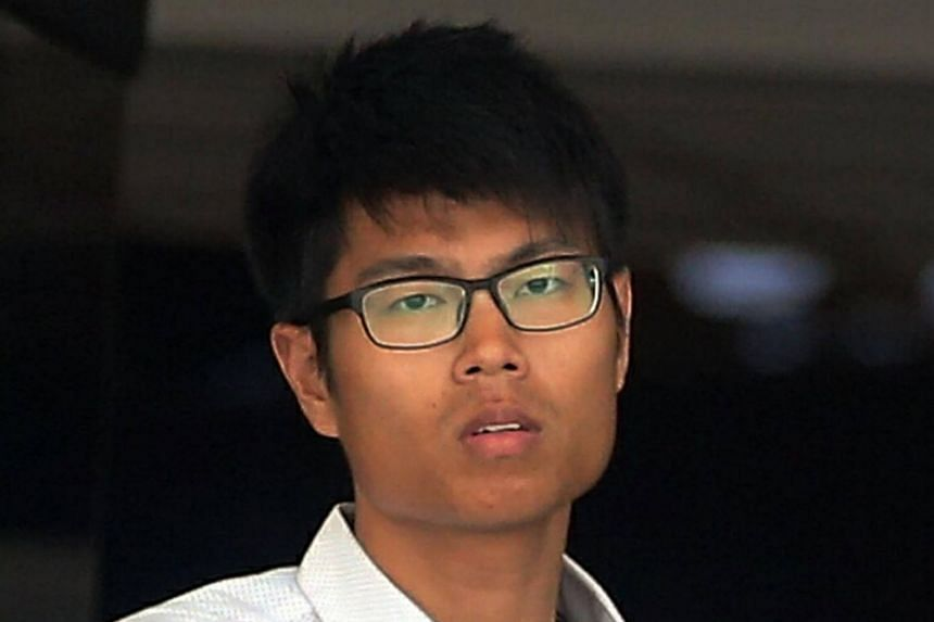 Weng Yixiang, 25, allegedly used criminal force to outrage the modesty of a woman in her 20s at National University of Singapore (NUS) on April 20, 2017.