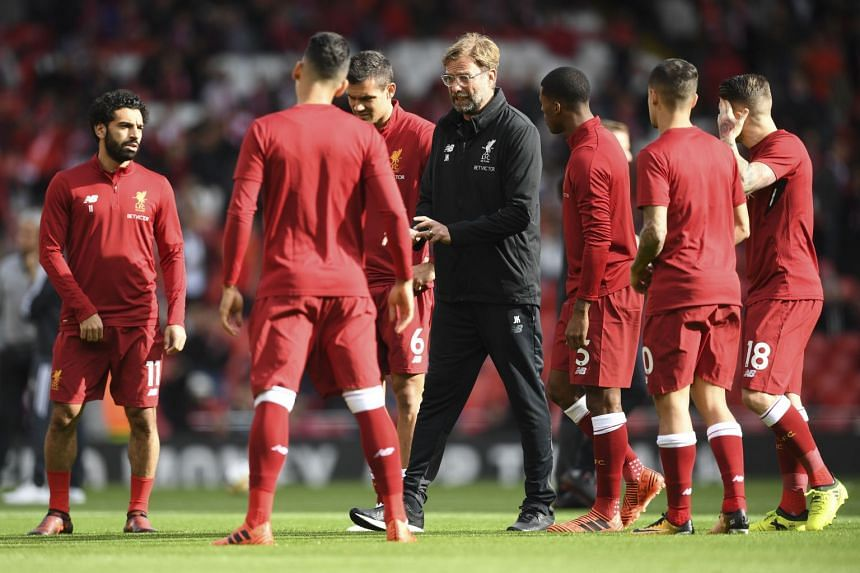 Juergen Klopp (above) criticised a potential match-day switch for Liverpool versus Arsenal.