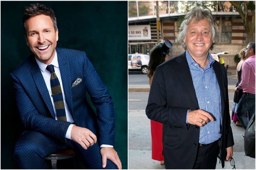 Montreal-based newspapers La Presse and Le Devoir published testimonies against talk show host Eric Salvail (left) and Just for Laughs comedy festival organiser Gilbert Rozon.