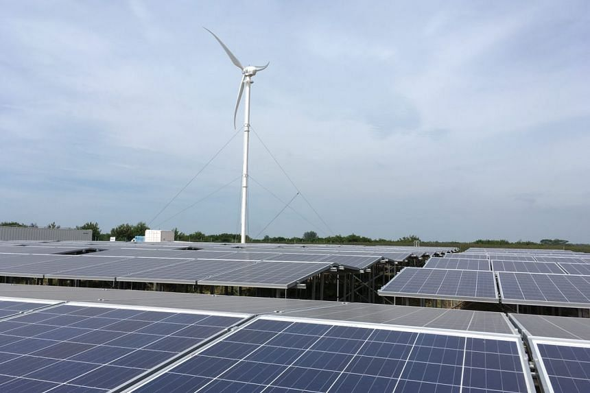 The turbine is one of up to seven which will generate power for hybrid microgrids on the landfill south of Singapore, together with other sources such as photovoltaic (solar) panels.