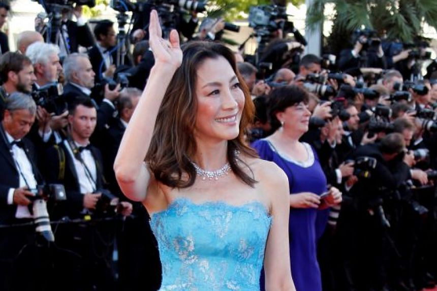 Actresses Zhang Ziyi and Michelle Yeoh (above).