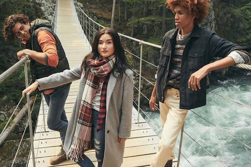Abercrombie & Fitch is going back to its roots as an outfitter that catered to adults going on rugged adventures.