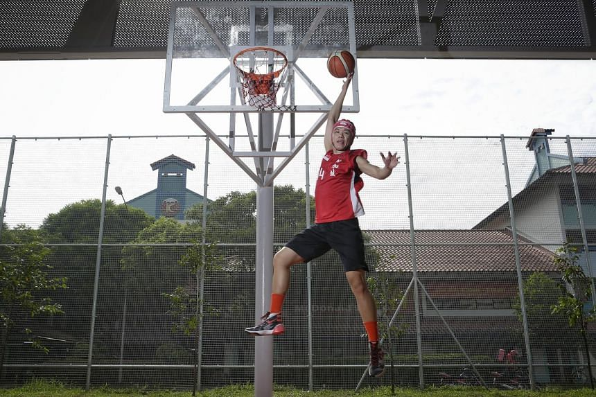Former national basketball player Lim Wai Sian, who suffered a life-threatening injury in 2010 which saw part of his skull replaced with plastic. He could not give up the game he loved until he realised his dream of turning out for Singapore at the 2