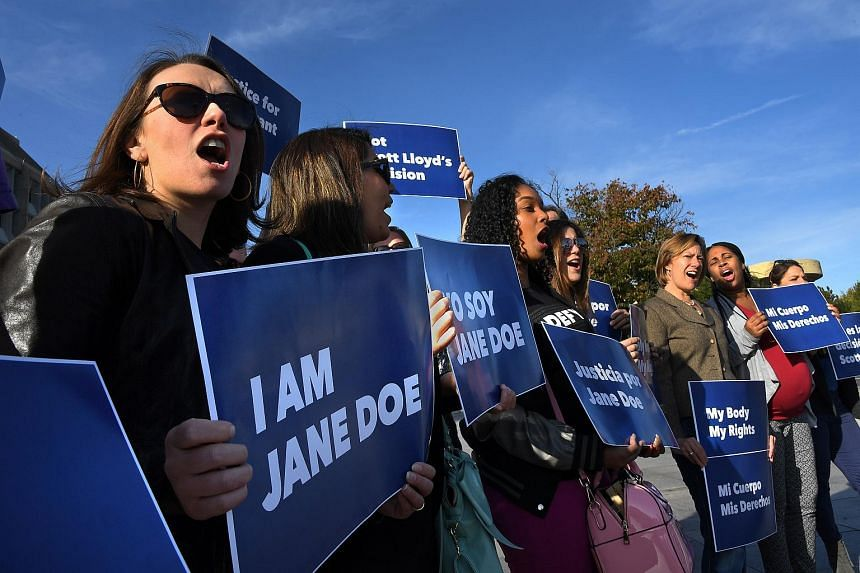 The Planned Parenthood Federation of America and coalition partners protested together outside the Department of Health and Human Services, on Oct 20, 2017.