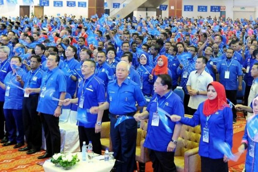 Prime Minister Najib Razak arrived at Putra World Trade Centre at about 9am on Saturday (Oct 21) to launch the meeting, before giving a speech to party leaders and machinery.