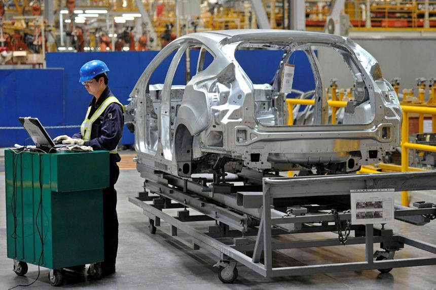 China's economy grew 6.8 per cent in the third quarter of the year, and 6.9 per cent in the first half.