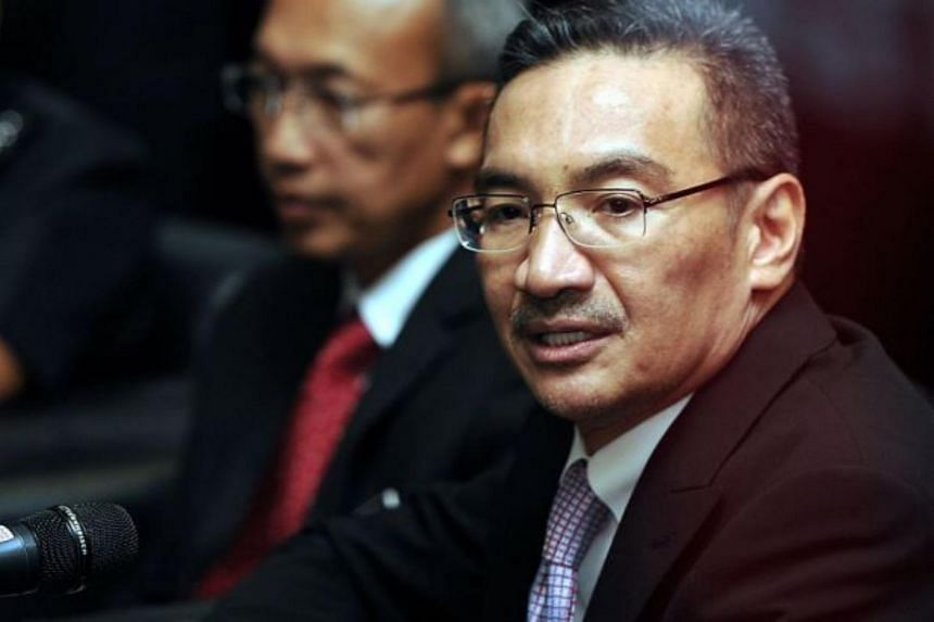 """""""While the news was confirmed by their (Philippines') highest leadership, let's just get confirmation from our own intelligence first,"""" said Malaysia's Defence Minister Hishammuddin Hussein."""