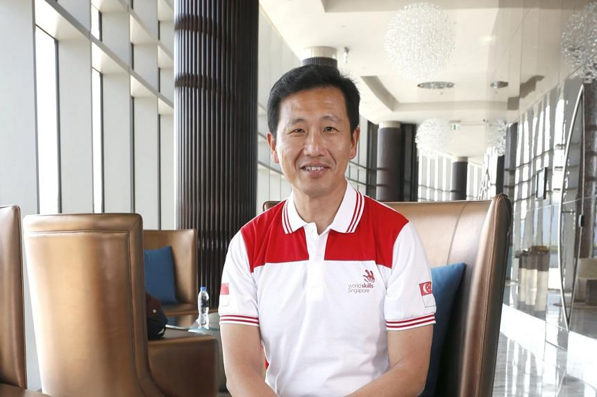 Education Minister (Higher Education and Skills) Ong Ye Kung made the comments after his visit at the WorldSkills international competition in Abu Dhabi.