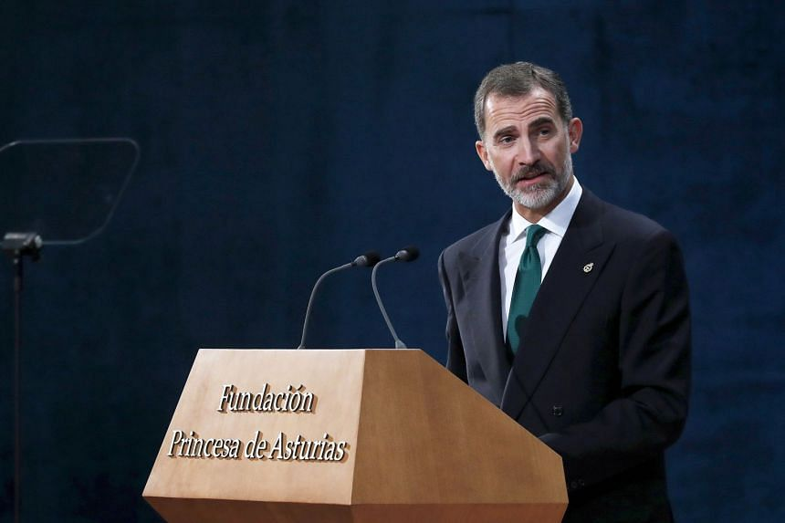 "King Felipe described Catalonia as ""an essential part of 21st century Spain"". ""We do not want to give up that which we have built together,"" he pleaded."